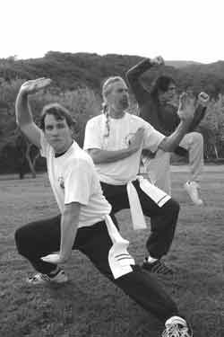 Buddha Kung Fu Class