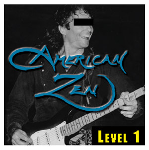 LEVEL 1 album cover of American Zen