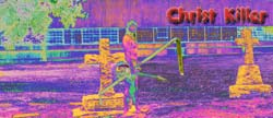 Foldout CD cover of Christ Killer